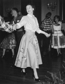 queen elizabeth floral skirt