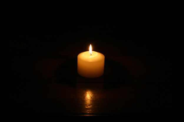 baby loss awareness candle