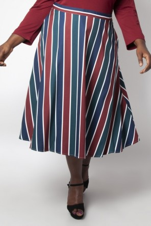 Madelyn plus size skirt
