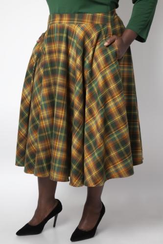 voodoo-vixen-tartan-skirt